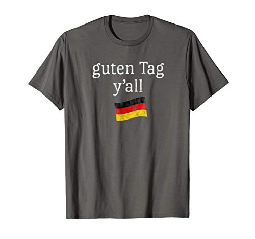 Traditional German Clothing (Oktoberfest Costume T Shirt Funny Outfit Texas German)