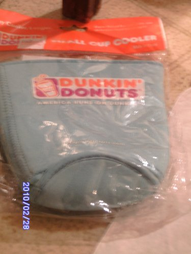 Dunkin Donuts Small Cup Cooler Beverage Drink Will Stay Cooler Longer