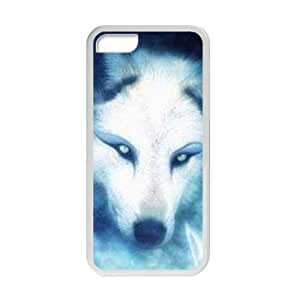 Welcome!Iphone 5C Cases-Brand New Design Wolf Printed High Quality TPU For Iphone 5C 4 Inch -08