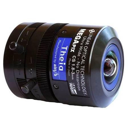 5メガピクセル1.8 – 3 mm Manual Iris cs-mountレンズ   B00Y2CS4KA
