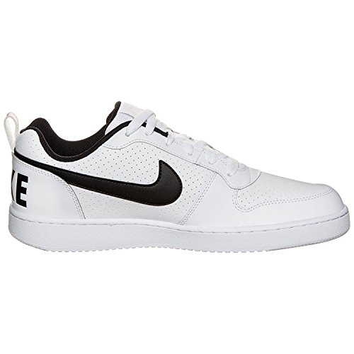 Black White Borough Herren Court Low Weiß NIKE Basketballschuhe zB0qwnS