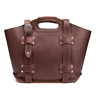 Saddleback Leather Tote - A Beautiful, 100% Full Grain Leather Tote For Daily Life
