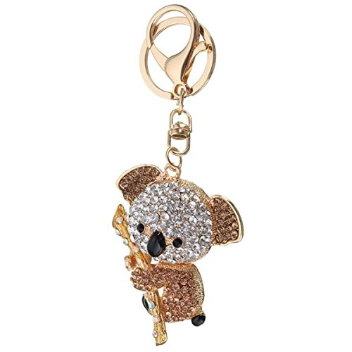 mark8shop Cute Crystal Koala sosteniendo la ramas colgante ...