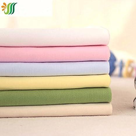 6 unidades por lote. 100% algodón orgánico tejido de punto Telas Patchwork tela acolchado Tilda algodón tela bebé DIY ropa: Amazon.es: Juguetes y juegos