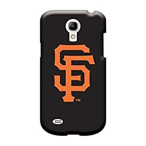 Shockproof Hard Phone Cases For Samsung Galaxy S4 Mini With Custom Trendy Baseball San Francisco Giants 3 Series MarieFrancePitre