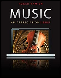 music an appreciation 7th brief edition