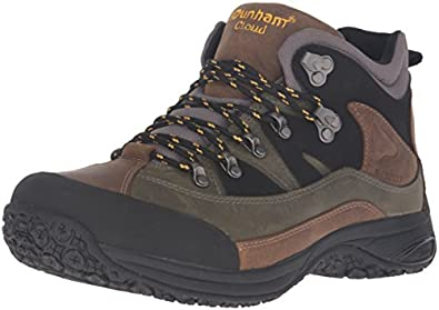 cheap Dunham Men's Cloud Mid-Cut Waterproof Boot, Grey - 9 B(N) US