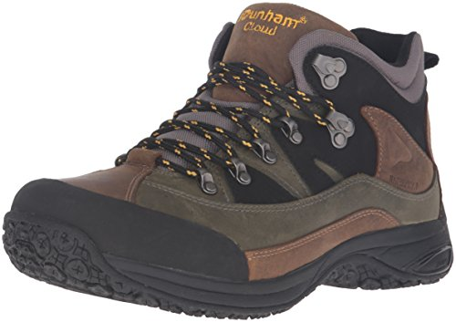 (Dunham Men's Cloud Mid-Cut Waterproof Boot, Grey - 9.5 4E US)