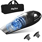 Sibytech Handheld Vacuum Cordless, 5KPA Powerful Suction Dustbuster Hand Vacuum Cleaner with LED Light, Lightweight Wet & Dry Vacuum for Home Pet Hair Car Cleaning