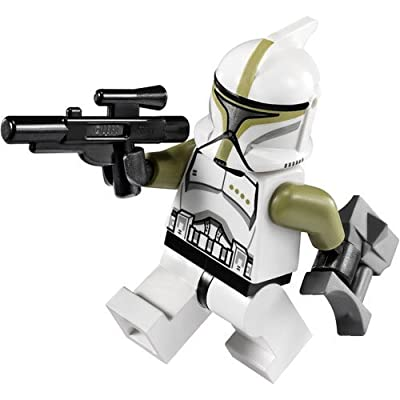 Lego Star Wars Clone Trooper Sergeant Minifigure: Toys & Games