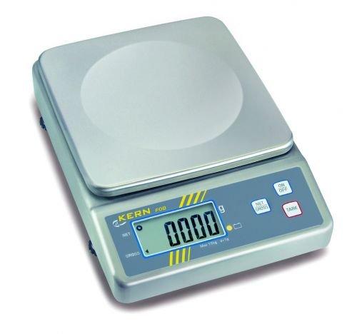 For Demand wiia30Bilancia acciaio inox Fob, scuola di pesaje 0–30kg, graduazione 2G, 220mm Lunghezza x 305mm larghezza x 80mm Altezza