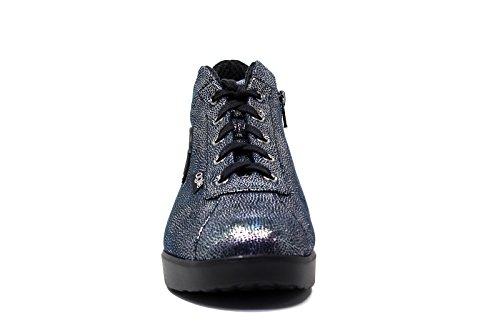 Agile by Rucoline Sneakers A Woman 226 PASHA SILVER NAVY new collection autumn winter 2016 2017 Silver BpCBcXZE