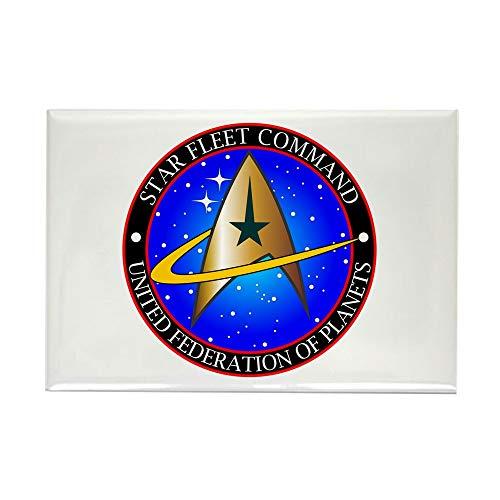 (CafePress Star Fleet Command Rectangle Magnet, 2