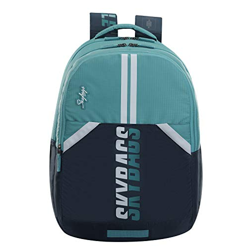 SKYBAGS Astro Extra Sporty Turq School Backpack 36L