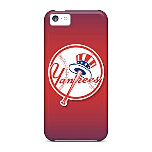 Best Hard Cell-phone Case For Iphone 5c (tCE3027kyoF) Unique Design HD New York Yankees Pattern
