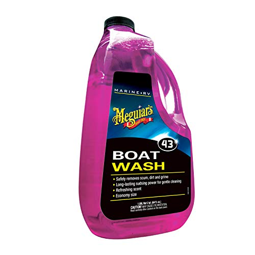 Meguiar's M4364 Marine/RV Boat Wash, 64 Fluid Ounces