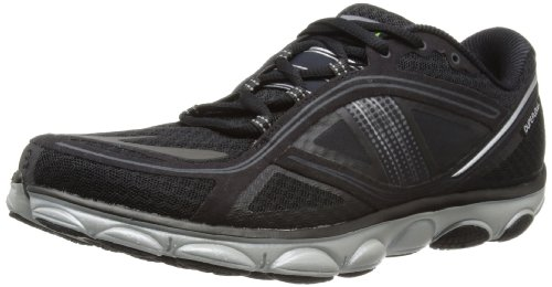 Brooks Men's PureFlow 3 Lightweight Running Shoes, Color: Black/Silver, Size: 10.0