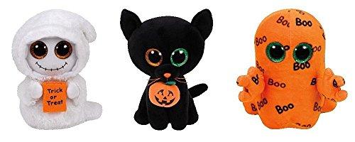 6d7a136f243 amazoncom ty beanie boos 2016 halloween set mistshadow ghoulie toys games