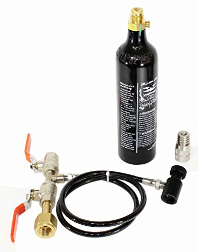 High-pressure CO2 Fill Station, 12oz Co2 tank and adapter Kit fit Soda Maker by Trinity