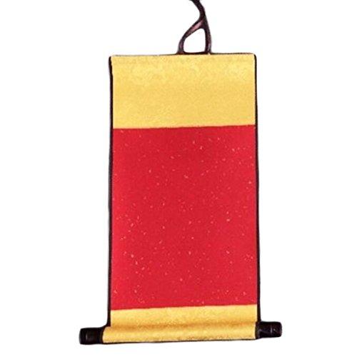Mini Xuan Paper Blank Paper Scrolls Random Color Twill Hanging Scroll-A1 -