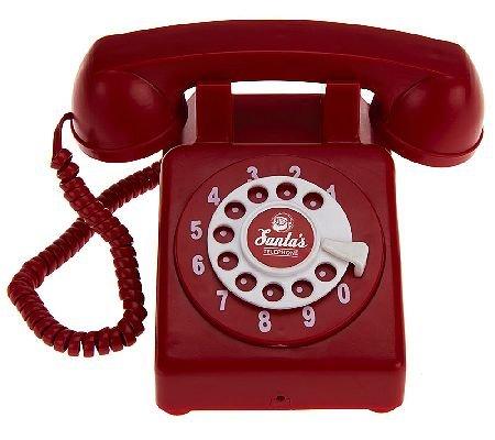 Kringle Express Interactive Santa's Christmas Telephone