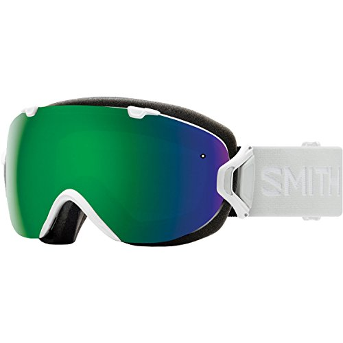 Smith Optics I/Os Adult Snow Goggles - White Vapor/Chromapop Sun Green Mirror