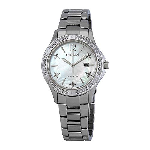 Citizen Watches Women's EW2510-50D Eco-Drive Silver-Tone One Size