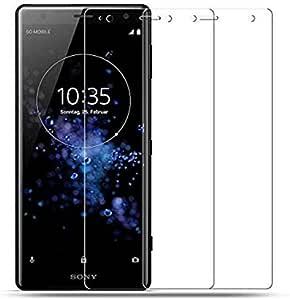 واقي شاشة زجاجي مقوى منحني لسوني اكسبيريا XZ3 - شفاف
