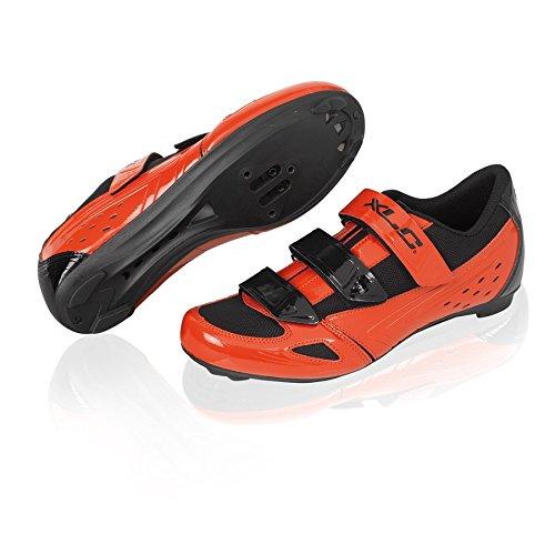 XLC Road Shoes CB de R04Rouge/Noir Taille 40(1pièce)