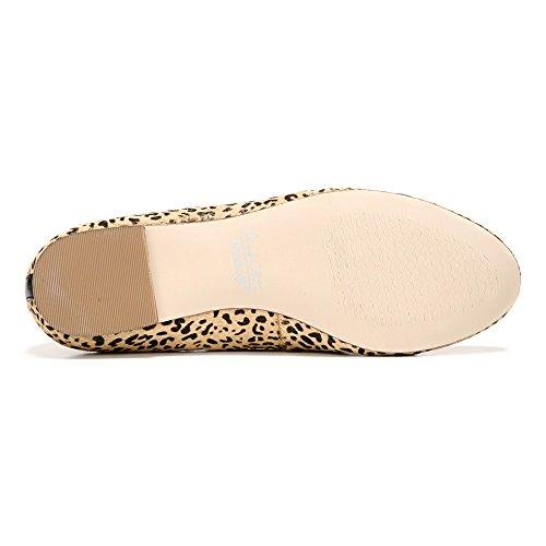 Womens Flats Pony Toe Closed Scholl's Slide Leather Dr Vixen Black Tan 5wCTWq