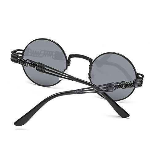 Lens Lunettes Yiwa Homme Black soleil Frame Gray de f0dwf
