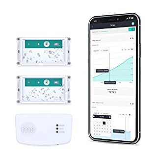 Tempy.io 2 Wireless Thermometer & Hygrometer Monitoring | Indoor/Outdoor Smart Temperature & Humidity Sensor w/Web App & Alerts for iPhone/Android, Tablets & Computers | Battery Powered & Long Range