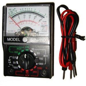 amazon com analog multimeter multi circuit tester voltage meter