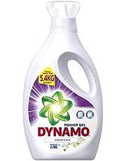 Dynamo Power Gel Laundry Detergent, Color Care, 2.7kg