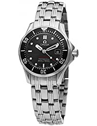 Womens 212.30.28.61.01.001 Seamaster 300M Quartz Black Dial Watch. Omega