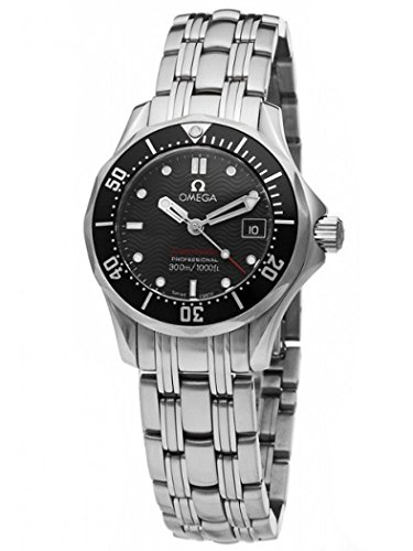 Omega Women's 212.30.28.61.01.001 Seamaster 300M Quartz Black Dial Watch (Omega Watches Models And Prices In India)