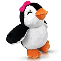 EpicKids Girl Penguin Plush - Stuffed Animal Toy - Suitable for Babies and Children - 5 inches