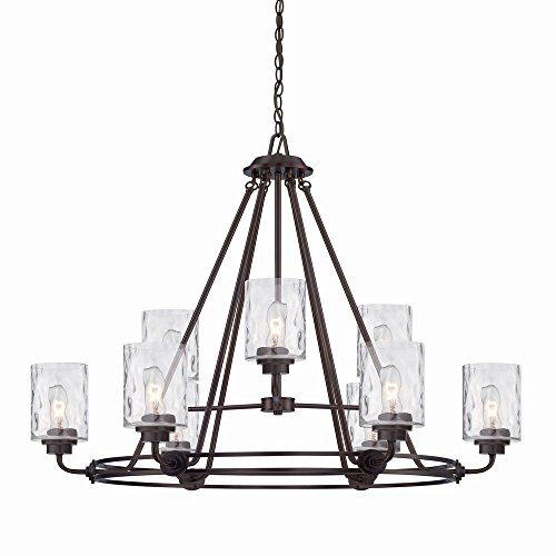 Designers Fountain 87189-OEB Gramercy Park 9 Light Chandelier, 34
