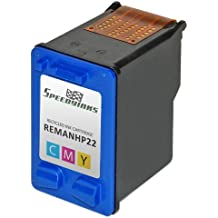 SpeedyInks Remanufactured replacement for HP 22 C9352AN Tri-Color Ink Cartridge