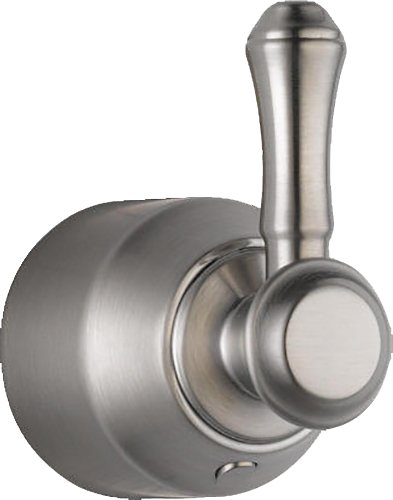 - Delta Faucet H597SS Cassidy Single Lever Bath Diverter/Transfer Valve Handle Kit, Stainless