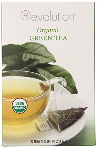 Revolution Tea Organic Green Tea, 20 Count (Pack of (6 Organic Green Teas)