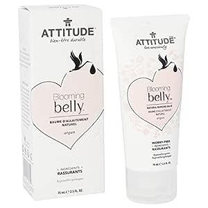 ATTITUDE - Blooming Belly - Bálsamo Natural de Lactancia con Argan ...