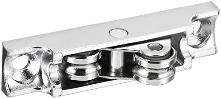 Sourcingmap - Polea de acero galvanizado para puertas correderas y ...