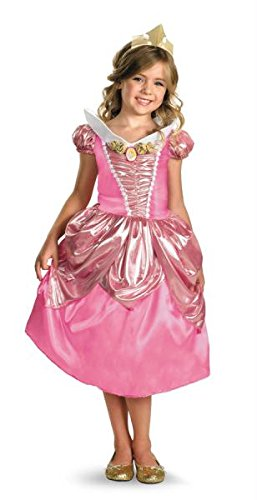 [Aurora Shimmer Deluxe Costume - Extra Small (3T-4T)] (Toddler And Girls Aurora Princess Costumes)