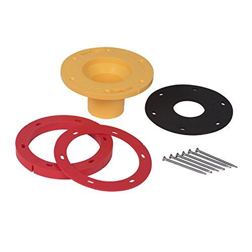 OATEY 43401 Set-Rite Toilet Flange Extension Kit, 1/4
