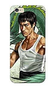 Blackducks Fashion Protective Bruce Lee Case Cover For Iphone 6 Plus