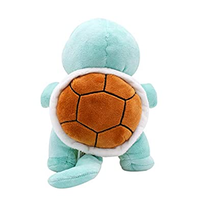 Anime Squirtle Plush Toy Peluche Stuffed Doll for Kids Cartoon Children's Gift: Arts, Crafts & Sewing