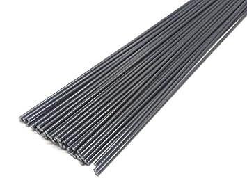 Alambre de soldadura de plástico PVC-U duro 3mm Redondo Gris 900 ...