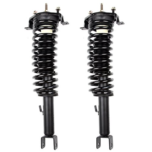ECCPP Complete Struts Spring Assembly Rear Struts Shock Absorber Fit for 2001 2002 2003 2004 2005 2006 Chrysler Sebring, 2001 2002 2003 2004 2005 2006 Dodge Stratus Sedan Models Set of 2 ()