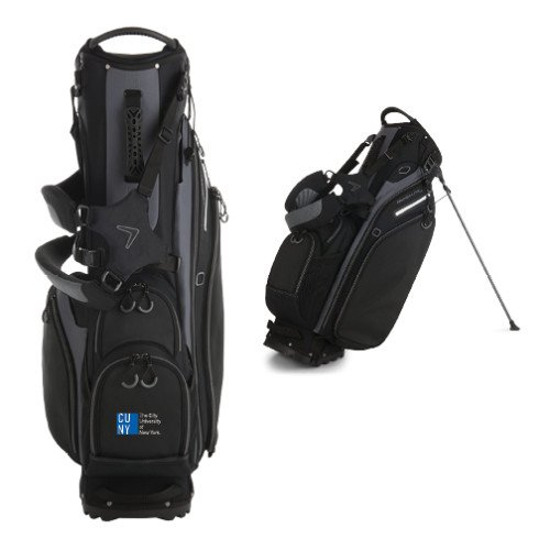 CUNY City University of NY Callaway Hyper Lite 5 Black Stand Bag 'Official Logo' by CollegeFanGear
